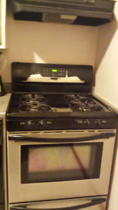 used working gas stove