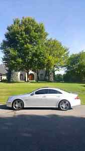 **MERCEDES CLS55 AMG 103 KMS NO ACCIDENTS NEVER WINTER DRIVEN**