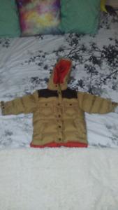 3T Gap feather jacket