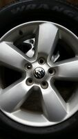 4 DODGE RAM RIMS WITH GOODYEAR TIRES P275/60/20