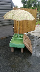 Water table outdoor play set