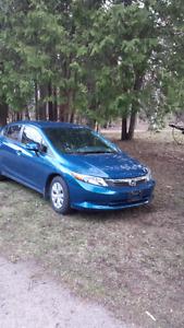 2012 Honda Civic 4 Dr automatic