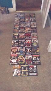 35 UFC DVDs