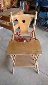 Beautiful antique child seat converts to potty/cart Kitchener / Waterloo Kitchener Area image 2