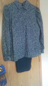 Ladies Teal Show Outfit
