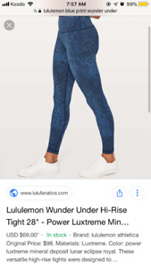 Size 6 high rise wunder unders