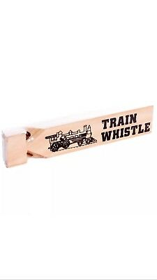 Wooden Train Whistle Halloween Costume Idea Train Conductor Party Favors