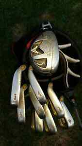 Left Hand Callaway Big Bertha Irons/3hybrid/putter/bag