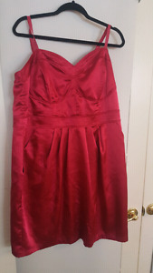Plus size torrid pink dress with pockets. Size 20
