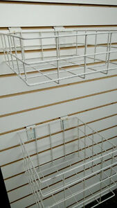 3 Slat Boards and Hanging Storage Baskets