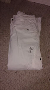 Women's XL White Ski Pants