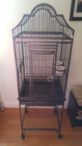 Bird Cage with Custom Cover