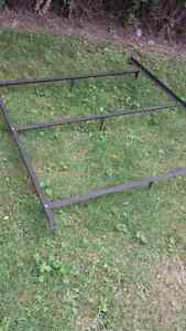 Bed frame steel adjustable from $20.00 to  $30.00