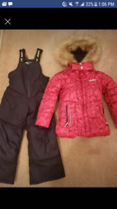 Gusti snow suit for sale $85 girls size 5