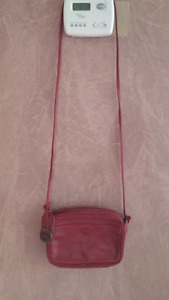 Authentic Long Champ crossbody leather bag