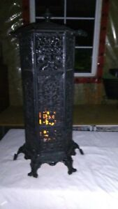 VICTORIAN CATHEDRAL HEATER-CAST IRON
