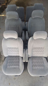 All interior seating - Silhouette/Montana/Venture