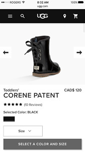 Uggs size 9 toddlers