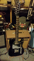 Fender Squier Black and Chrome Special Edition Tele