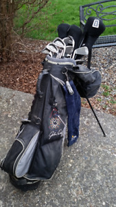 Golf Clubs, Bag, Cart and Accessories