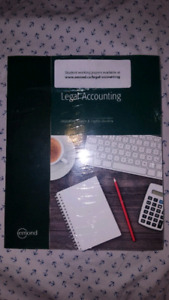 NEW LEGAL ACCOUNTING TEXTBOOK