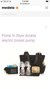 Medela pump in style