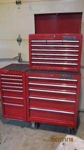 coffre a outils base+ tete + extention 27 pouces 20 tiroirs