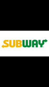 Now hiring Subway Manager