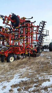 Bourgault tank and drill