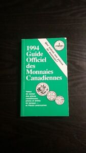 Guide officiel des monnaies canadiennes 1994