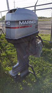 1994 40HP Mariner Outboard Long Shaft