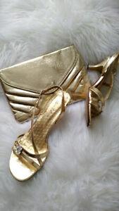 Sandales féminines - parfaites pour une occasion spéciale! Gr.6