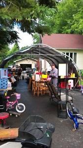 Grosse vente de garage 4 familles réunies