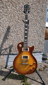 2015 Epiphone Les Paul Standard Pro in Honeyburst