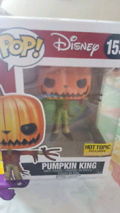 Disney Pumpkin King Hot Topic Exclusive Funko Pop