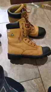 Brand new steel toed work boots