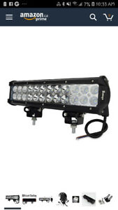 "Safego 12""inch 72w Cree Led Light Bar"