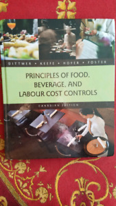 Principles of food, beverage,  and labour cost controls Canadian