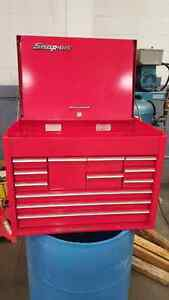 Snap on tool top chest