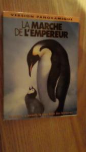 dvd La marche de l'empereur