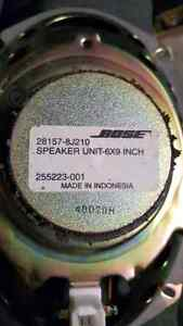 Nice set of bose speakers with accessories