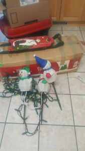 Tree and decorations $30 for all