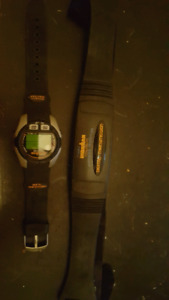 Timex marathon watch and heart rate monitor