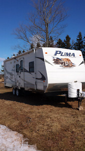 puma travel trailer 25 rbss