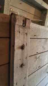 Large and rare - 100 year old antique barn door London Ontario image 8