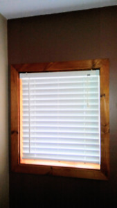 Wood Blinds Excellent Condition