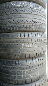 235/40R18 and 235/55R19 225 perelli and Continental tires