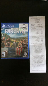**BRAND NEW SEALED ** FAR CRY 5 PS4 Game with RECEIPT $70
