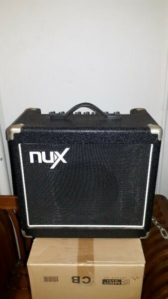 VERY GOOD CONDITION POWERFUL BASS SOUNDS OF NUX MIGHTY 15 GUITAR AMPLIFIER.