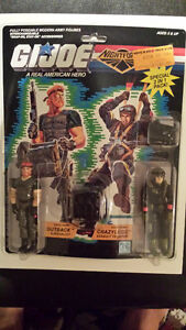 Vintage Gi-Joe action Figures